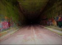 Rays Hill Tunnel Eastern Portal.