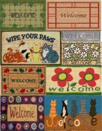 welcome mats not kitchen mats