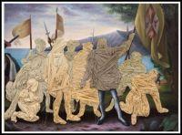 Columbus Day Painting ~ Titus Kaphar