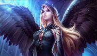 Zwarte engel