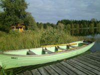 Poole Keynes - Rowing Boat