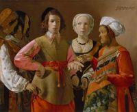 Georges de La Tour: La buenaventura, 1630
