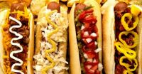 Hot Dogs 4 ways