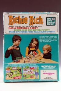 Richie Rich Has A Birthday Party Play-Mate Stand-Up Stories