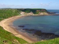 Bays of England: Runswick Sands Yorkshire