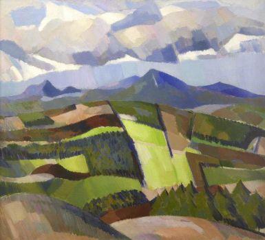 In Glen Isla, John Duncan Fergusson (1874–1961) University of Stirling