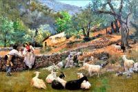 Rural scene, Italy