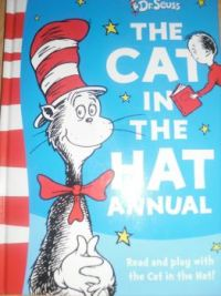 Cat in the hat.