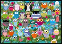 Collage of Owls