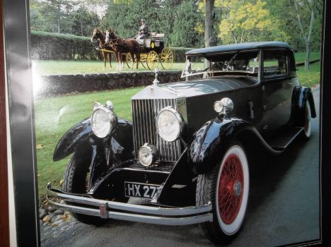 Rolls-Royce 1930 20-25 Park Ward Doctor's coupe