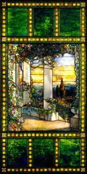 Tiffany Glass & Decorating Company, Hinds House Window (ca 1900)