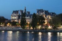 Near the Notre Dame Cathedral, Paris