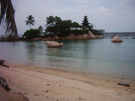 View from Batam beach