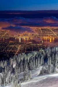 Vancouver from Grouse Mtn