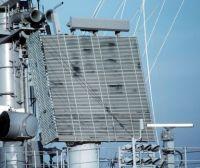 SPS 48 Radar, view of the antenna