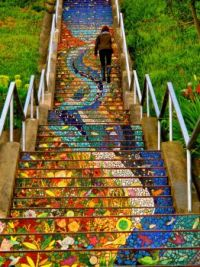 16th Avenue Tiled Steps, San Francisco