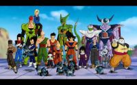 DBZ Z-Fighters & Villians