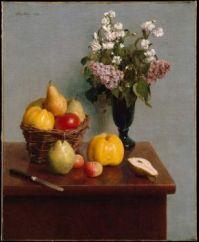 Still Life by Henri Fantin Letour (1866)