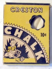 Old Box of Chalk