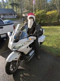 Santa's other ride