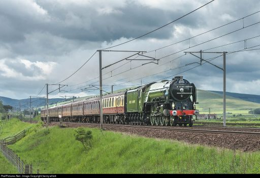60163 Tornado  - Abington Scotland