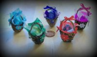 Crafts - 12th Scale Dolls House Baskets - Easter Baskets - Singles (Small)