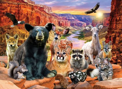 Animals of Canyons National Park