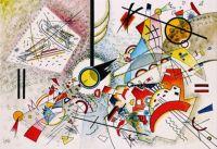 Bustling Aquarelle by Kandinsky 1923