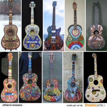 Colored Guitars - Large