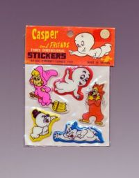 Casper and Friends Three Dimensional Stickers