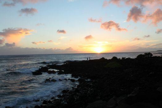 Sunset in Poipu
