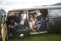 1974 VW Camper with 51 people inside