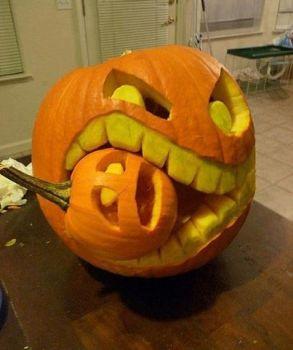 Halloween Fun #6 (Hannibal Pumpkin)