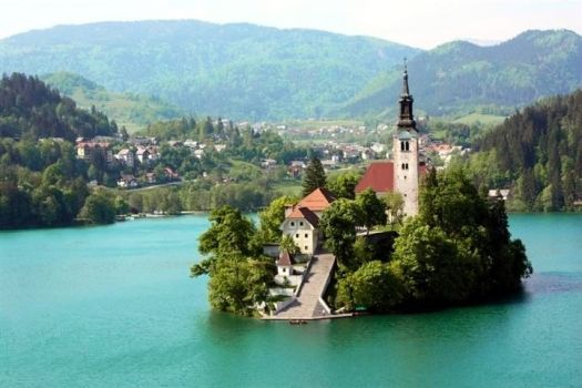 Lake Bled, Slovenia - photog unknown