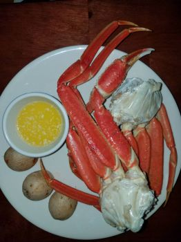 Valentine's Dinner Snow Crab