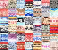 PATCHWORK SWEATERS FROM NORWAY
