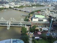 View from the London eye,