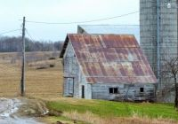 Old Barn--Late Winter....