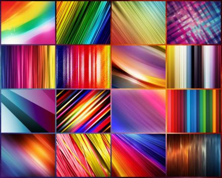 rainbow textures - very large