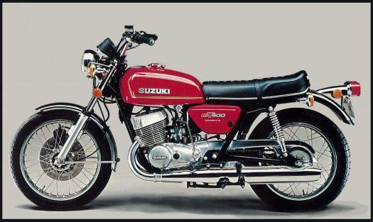 5 - Suzuki GT500 1976