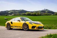 Porsche 911 GT3 2018 Yellow
