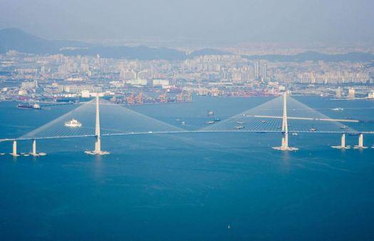Incheon Bridge, South Korea $1.3 billion