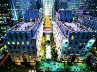 Rockefeller Center, New York City  ~  ''It's a Wonderful Town''