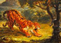 Tigre et Serpent 1862