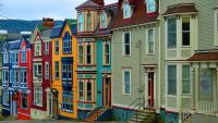 Colourful Homes - St. John's, Newfoundland
