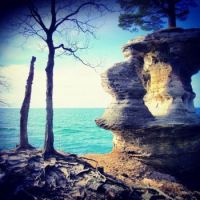 Chaple Rock, Michigan