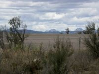 Typical landscape of Australia - in the background is the Stirling Ranges National Park near Albany - Sometimes it snows in wint