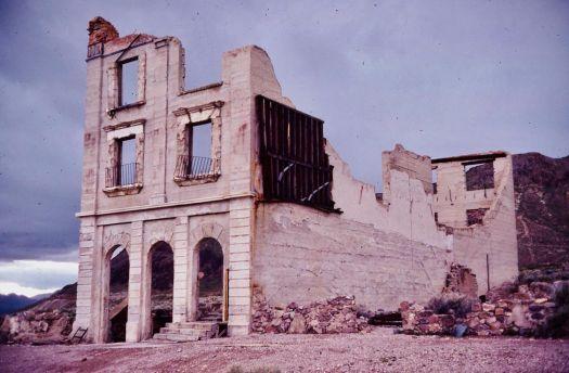 Deserted ruins
