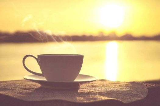 Solve Guten Morgen Bilder Eine Tasse Kaffee Mit Dampf Jigsaw