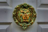 HDR of a door knocker, Kings Lynn - 7th Aug 2012